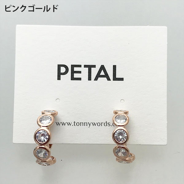 caronシリーズ☆イヤリング・ドット 【PETAL MARKET】