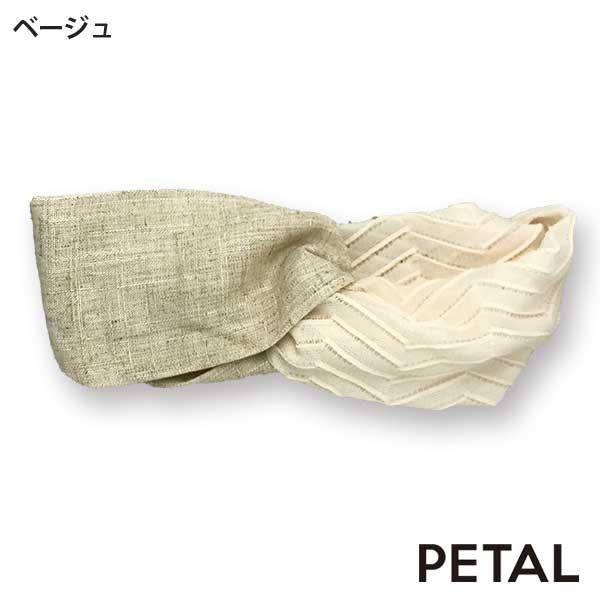 ハッピーな気分に☆無地コンビターバン【PETAL MARKET】