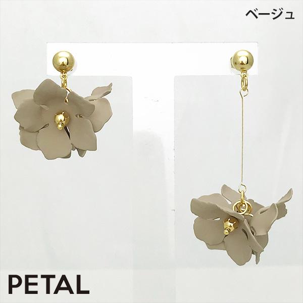 人気 ピアス・マリュ【PETAL MARKET】