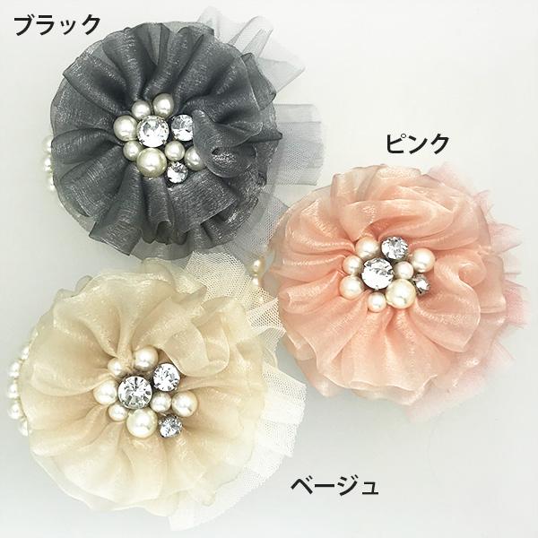 お花とパールのコサージュ&ピン 【PETAL MARKET】
