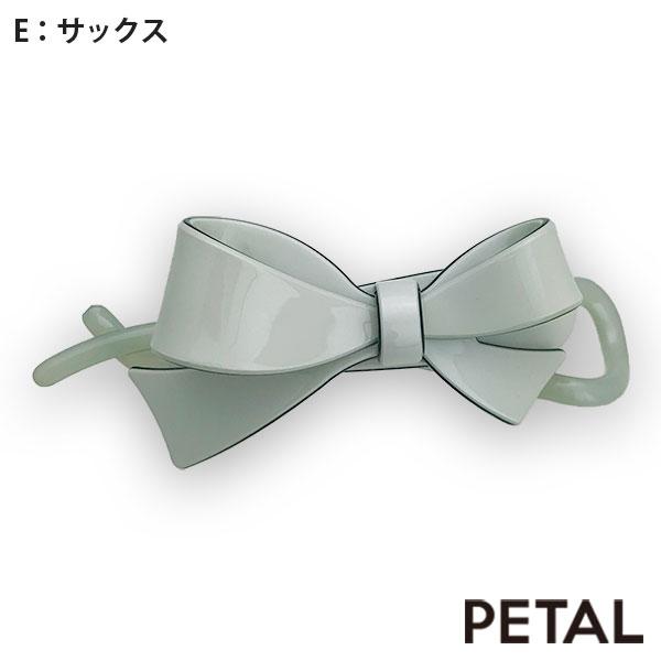 NEWマカロンリボンクリップ【PETAL MARKET】