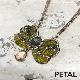 レトロんリボン《ロング》ネックレス 【PETAL MARKET】