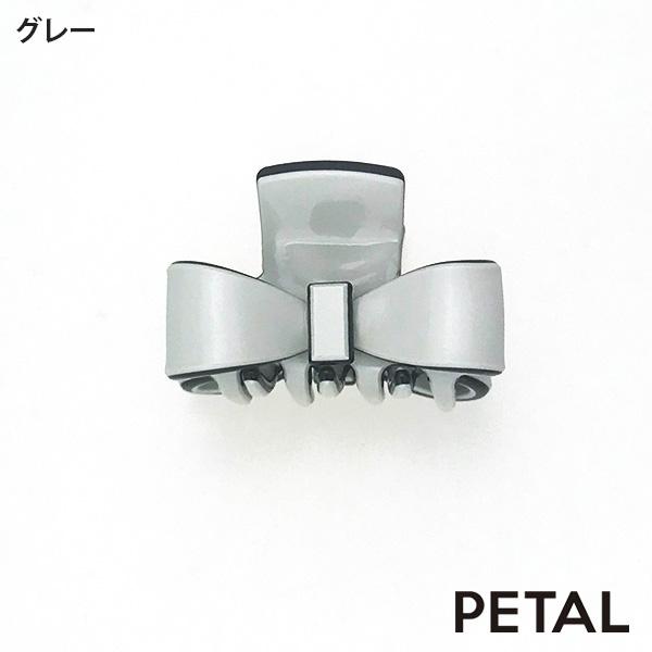 NEWマカロンミニリボンクリップ【PETAL MARKET】