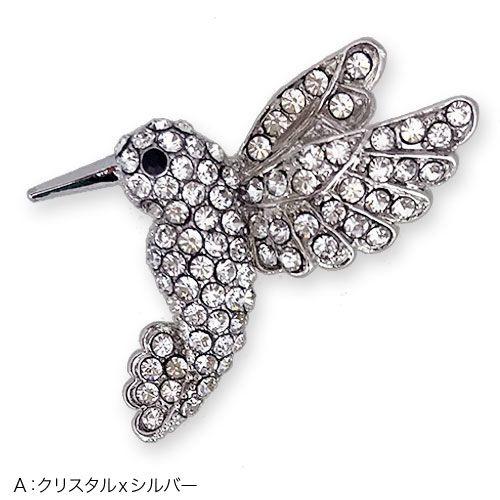 NEW小鳥さん達がやってきたブローチ【PETAL MARKET】