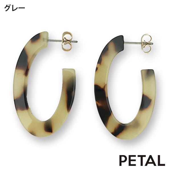 French Style☆変形フープピアス【PETAL MARKET】
