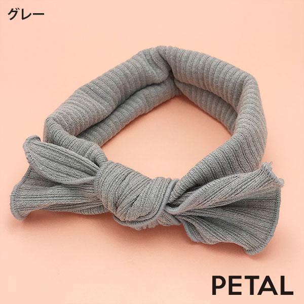 NEWベビー用☆リボンヘアターバン【PETAL MARKET】