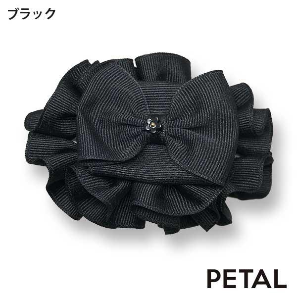 NEWレディアシリーズ フリルリボンバンス お花付き【PETAL MARKET】