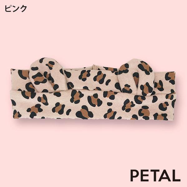 NEWベビー☆アニマル柄リボンヘアターバン【PETAL MARKET】