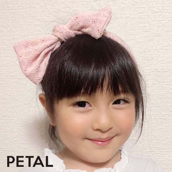NEWキッズ☆小花ヘアターバン【PETAL MARKET】
