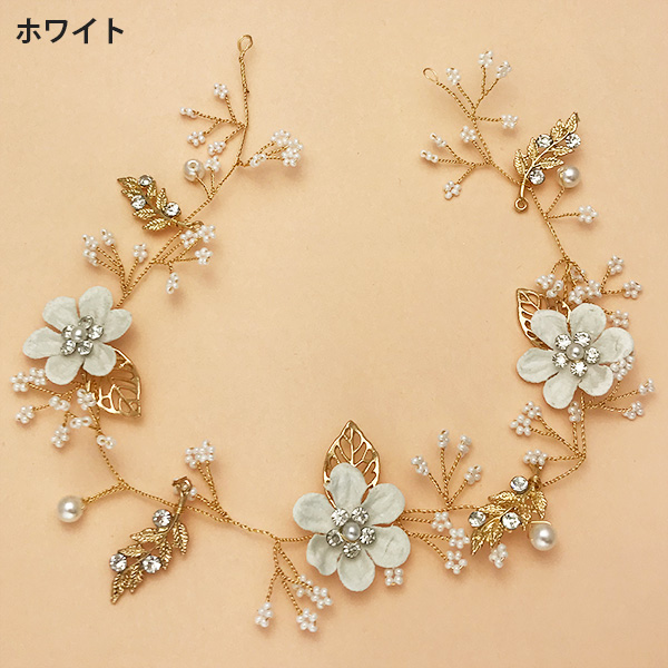ブライダル☆かわいらしいお花のヘッドピン【PETAL MARKET】