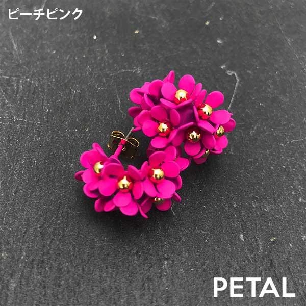 ピアス・レディミニフープ 【PETAL MARKET】