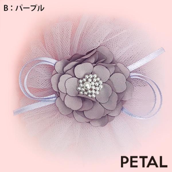 お姫様フラワーピン【PETAL MARKET】