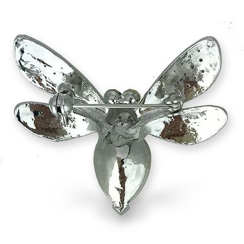 再販スタート 女王のように高貴な蜂のブローチ【PETAL MARKET】