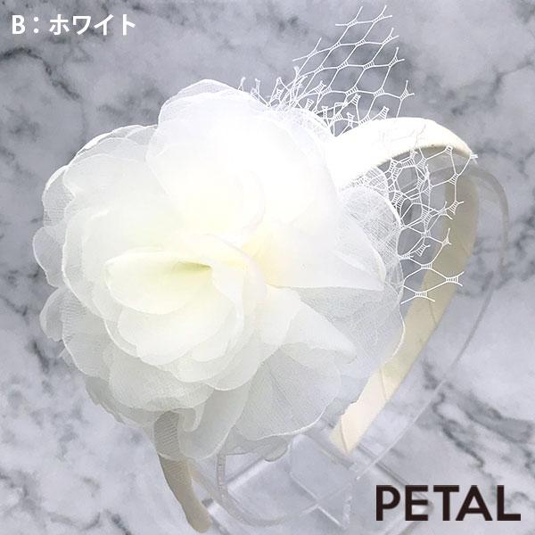 大人なフワラーカチューシャ【PETAL MARKET】