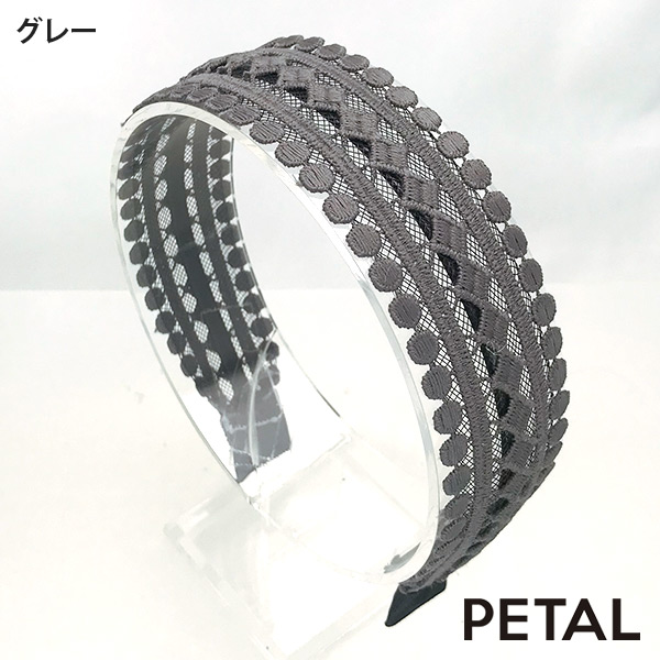 QUI新作カチューシャローラン【PETAL MARKET】