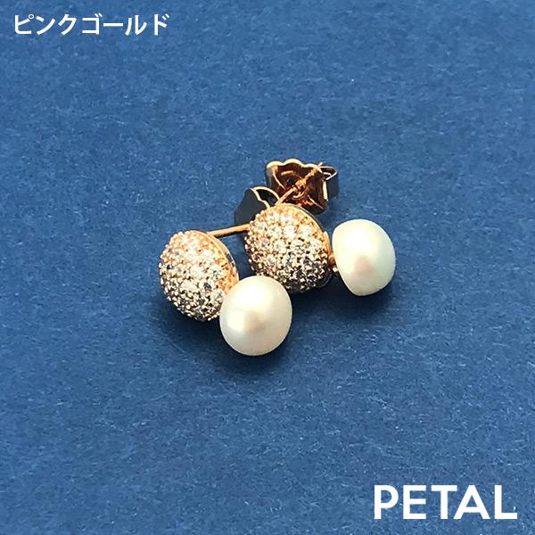 caronシリーズピアス・パヴェミレー【PETAL MARKET】