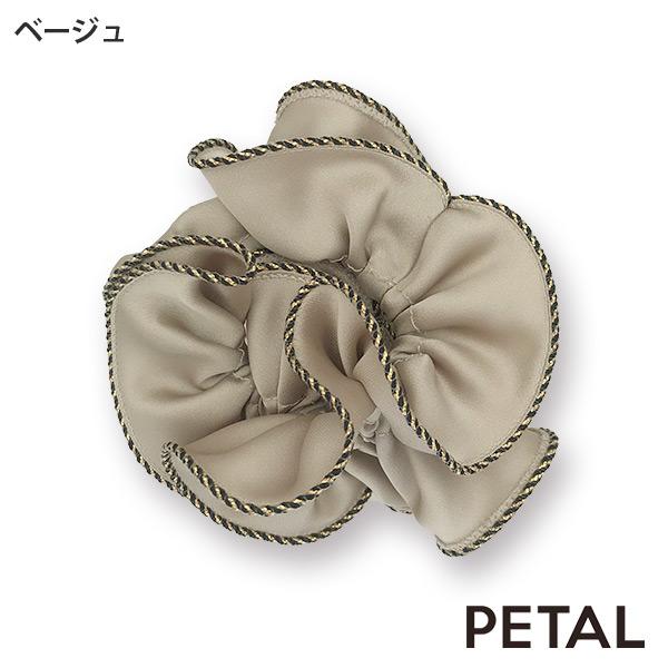 ゴールドツイストパイピングシュシュ 【PETAL MARKET】