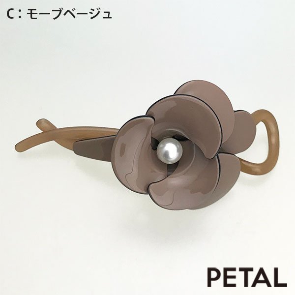 マカロンフラワークリップ【PETAL MARKET】