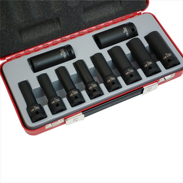 12.7mm(1/2)インパクト用ディープソケット10pcs 4906