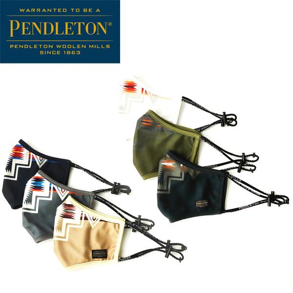 【PENDLETON(ペンドルトン)】【PENDLETON(ペンドルトン)】HARDING PRINT MASK ハーディングプリント ネイティブ柄 マスク HARDING