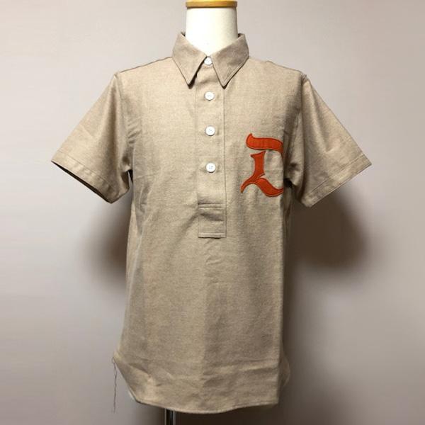 Dapper's(ダッパーズ)】20's Style Classic Baseball S/S Shirts ベースボールシャツ プルオーバーシャツ LOT1388