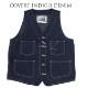 【Dapper's(ダッパーズ)】Standard Railroader Work Vest LOT1379