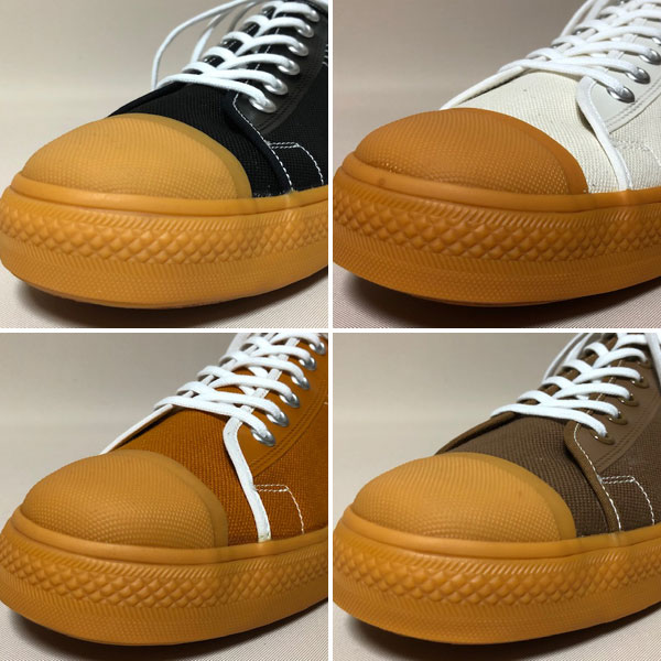 Dapper's(ダッパーズ)】Dappers Brand Canvas Sneakers Type Low Cut LOT1403