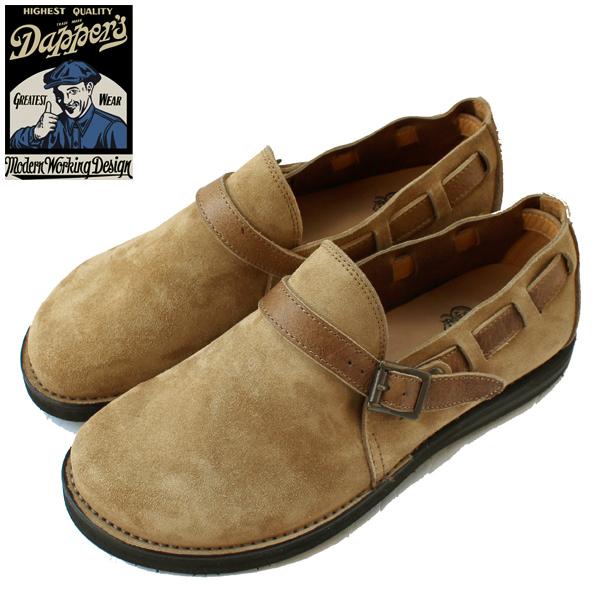 Dapper's(ダッパーズ)】Kudo Leather Slip-on Sandals LOT1393