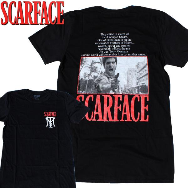 【SCARFACE(スカーフェイス)】OTHER MAN(アザーマン) T-SHIRTS Al Pacino アル・パチーノ