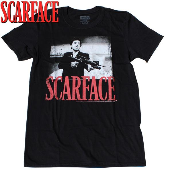【SCARFACE(スカーフェイス)】 SHOOTAH (シューター) T-SHIRTS Al Pacino アル・パチーノ