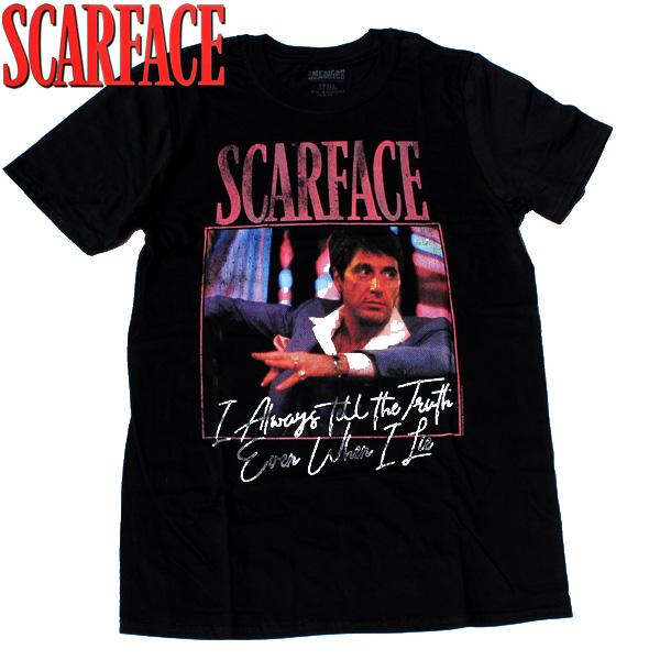 【SCARFACE(スカーフェイス)】 ALWAYS (オールウェイズ) T-SHIRTS Al Pacino アル・パチーノ