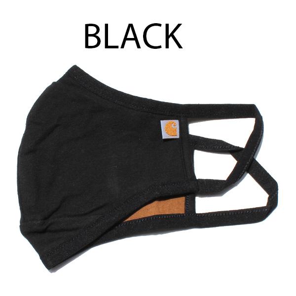 【CARHARTT(カーハート)】COTTON BLEND EAR LOOP FACE MASK フェイスマスク マスク 大人用 男女兼用 メンズ レディース 正規品 BLACK BROWN ブラック ブラウン
