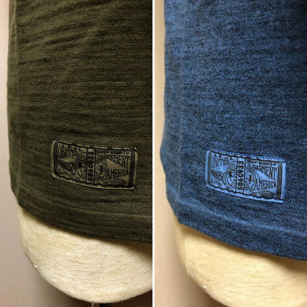 【Dapper's(ダッパーズ)】Double V Football Tee Special Sewing Model