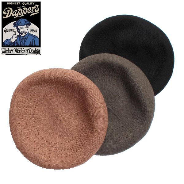 【Dapper's(ダッパーズ)】Classical Summer Beret ベレー帽