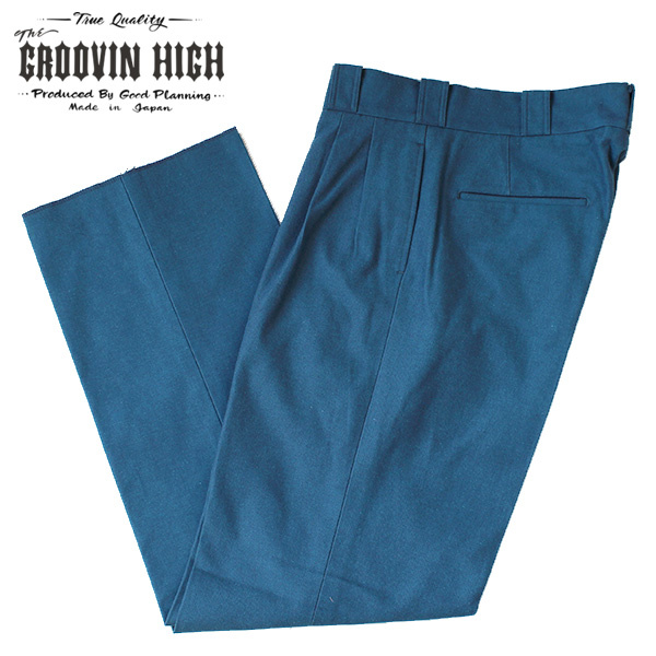 【The GROOVIN HIGH(ザ・グルーヴィンハイ)】1930s style Work pants ワークパンツ スラックス