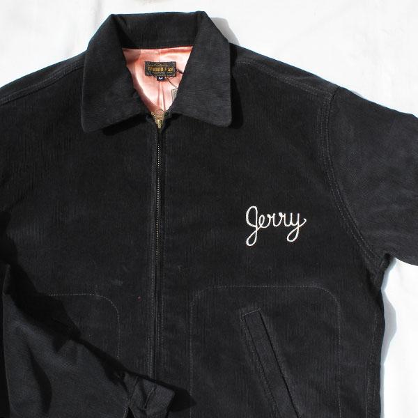 【The GROOVIN HIGH(ザ・グルーヴィンハイ)】1940s style Car club Jacket Black カークラブジャケット コーデュロイジャケット ドリズラー