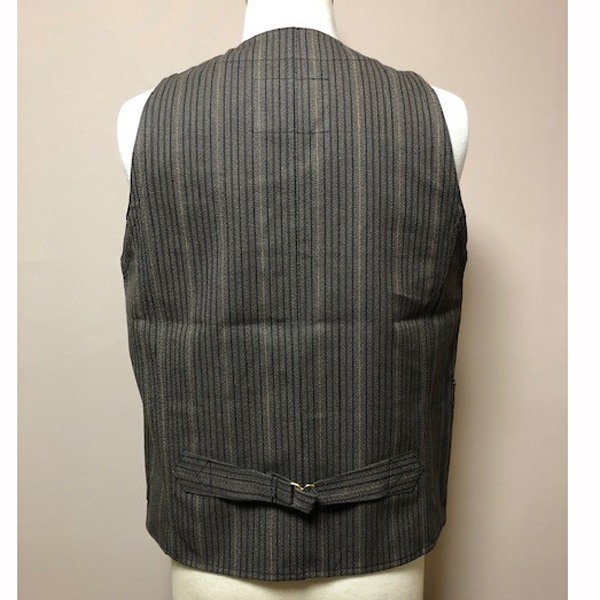 【Dapper's(ダッパーズ)】Classical Railroader Work Vest LOT1422 スタンダード レイルローダー ワークベスト