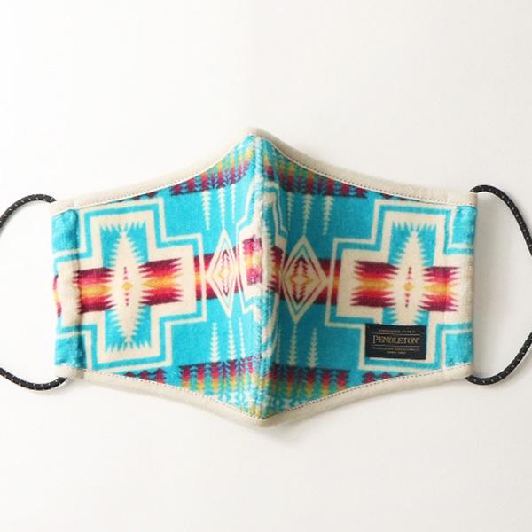 【PENDLETON(ペンドルトン)】pile fabric mask ネイティブ柄 パイルマスク