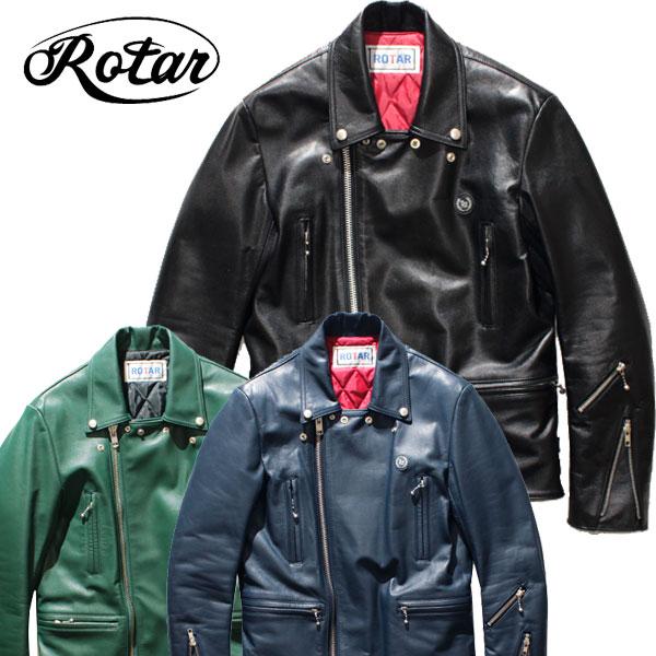【ROTAR(ローター)】ROTAR RIDERS (W) レザージャケット ライダース