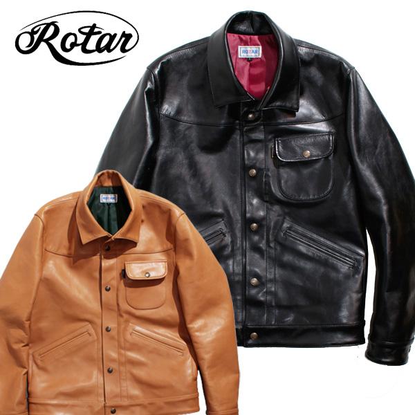 【ROTAR(ローター)】Steerhide leather blouson レザージャケット ライダース