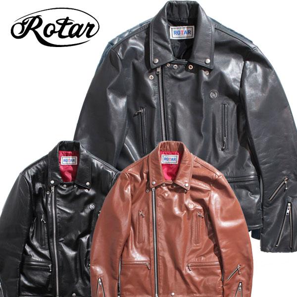 【ROTAR(ローター)】ROTAR RIDERS (W2) レザージャケット ライダース