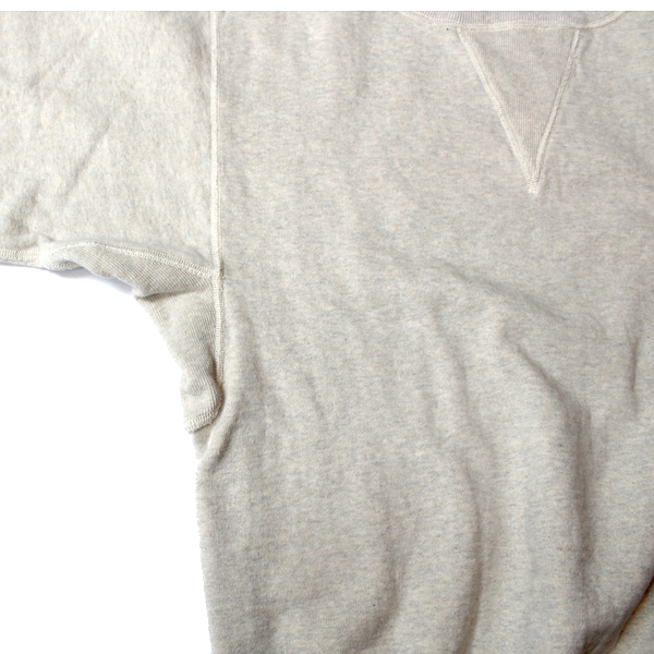 【Dapper's(ダッパーズ)】Classic Double V Sweat Special Sewing Model LOT1295 両Vスウェット 丸胴吊り裏毛
