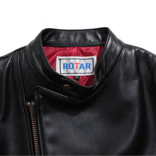 【ROTAR(ローター)】Neo RIDERS Semi Double レザージャケット ライダース