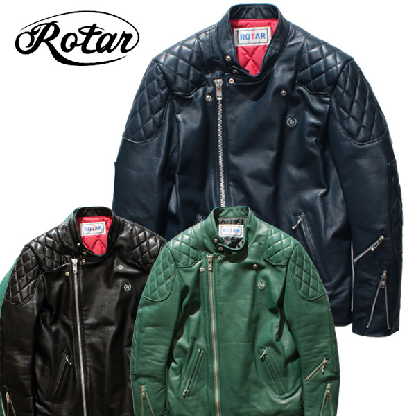 【ROTAR(ローター)】ROTAR RIDERS GT (W) レザージャケット ライダース