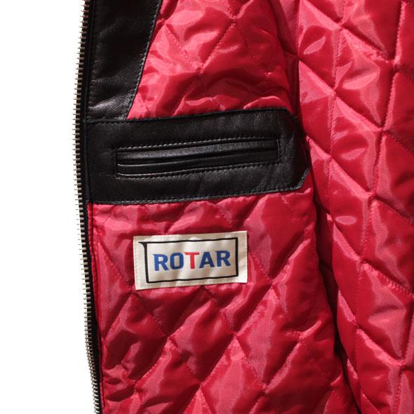 【ROTAR(ローター)】ROTAR RIDERS Single  レザージャケット ライダース
