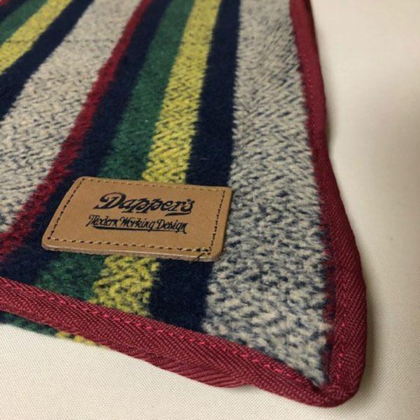 【Dapper's(ダッパーズ)】Border Pattern Blanket LOT1451 ボーダーブランケット