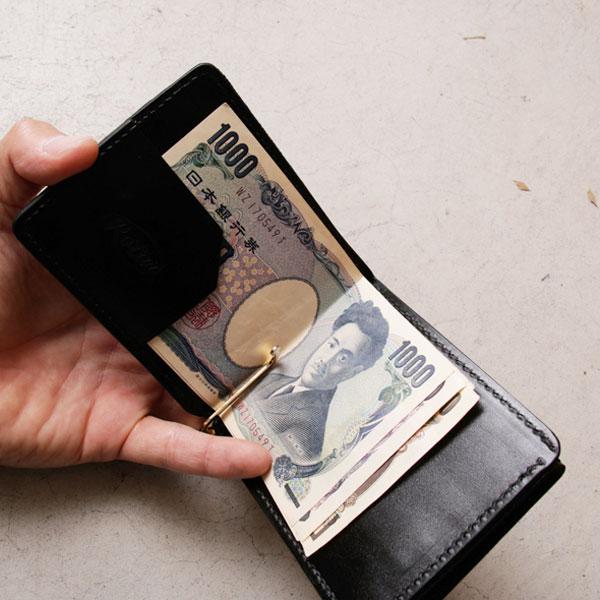 【ROTAR(ローター)】Rugato money clip マネークリップ RUGATO(ルガート) LEATHR TANNERIE MASURE(タンナリー マズール)