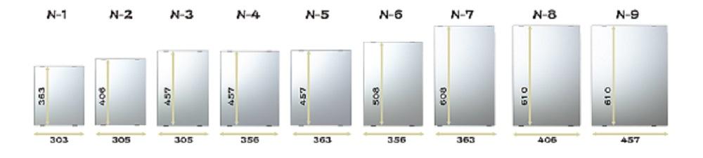 交換鏡 N-1 縦363×横303×厚み5�