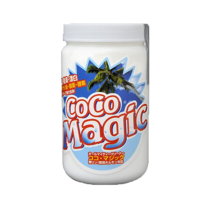 ココマジック 除菌・脱臭・漂白効果に優れた強力洗剤