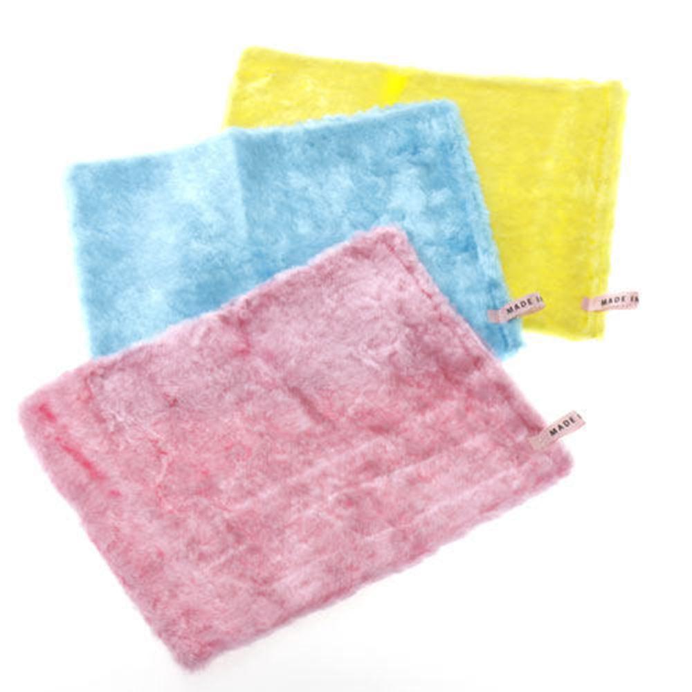 きらきらクロス 3枚セット 長い毛足で汚れをキャッチ。家中の拭き掃除に